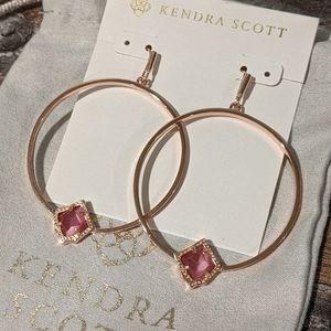 Kendra Scott Elberta Hoop Earrings